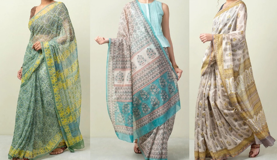 Tips To Choose Best Bagru Print Cotton Sarees Online